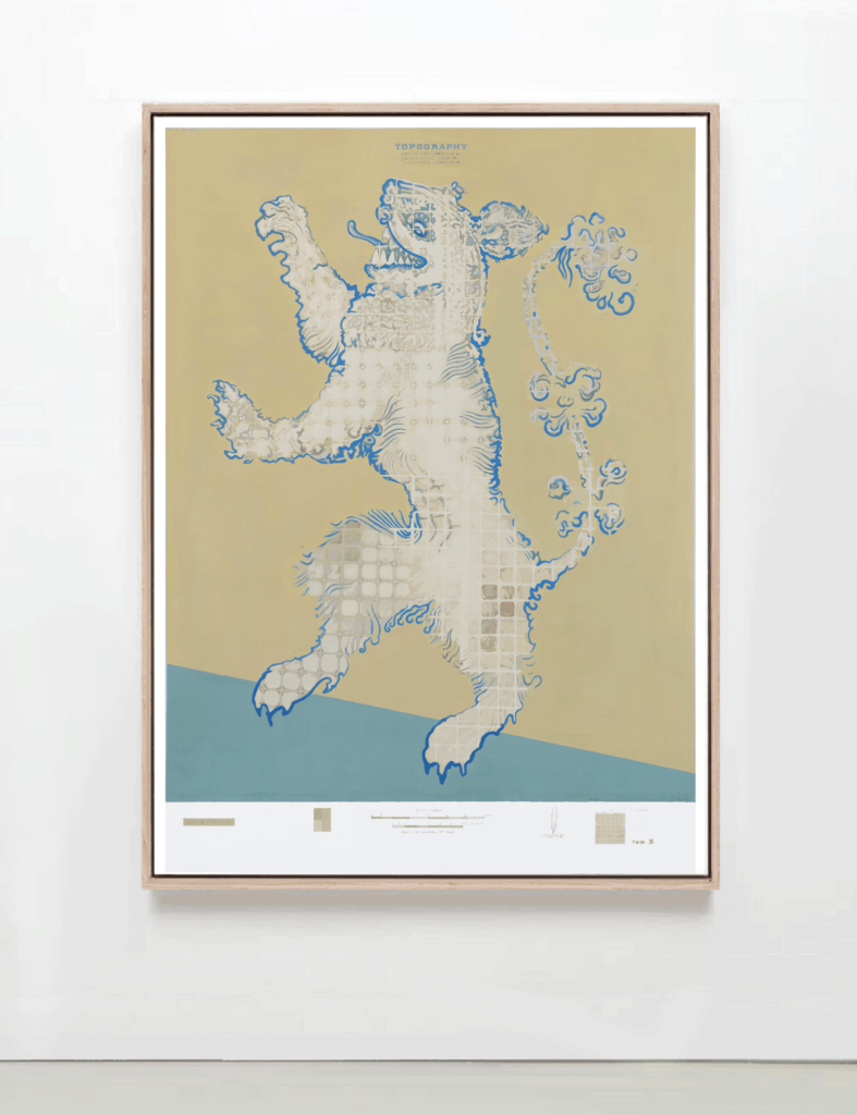Lynsey Johnson Artwork Chinese Foo Dog Yin Yang